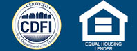Certified CDFI. Equal Housing Lender